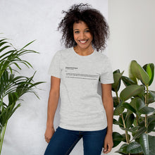 Load image into Gallery viewer, Empowerologist Grey Cotton T-Shirt for Women
