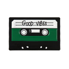 Load image into Gallery viewer, Good Vibes Enamel Pin for Women by Empowerologist