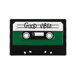 Good Vibes Enamel Pin for Women by Empowerologist