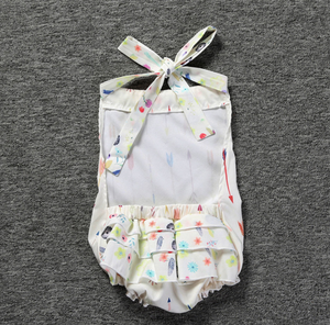 Halter Arrow Romper