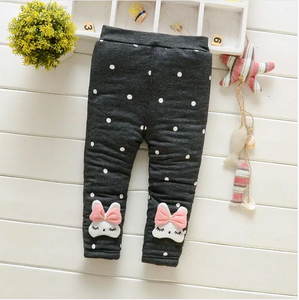 Warm Bunny Girl Trousers