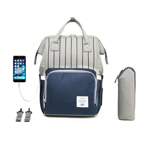 Premium Diaper Bag With USB d1