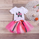 Shark Onesie & Tutu Skirt Set