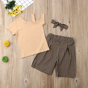 Corrine Cold Shoulder Outfit