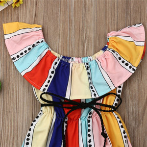 Color Wheel Romper