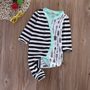 Stripe Arrow Onesie