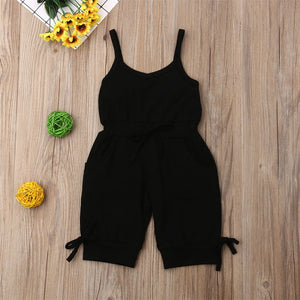 Sleeveless Overall Romper (Multiple Colors)