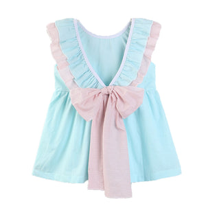 Bow Frilled Dress