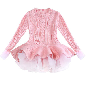 Knitted Tutu Dress
