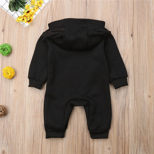 I'm The Boss Hooded Romper