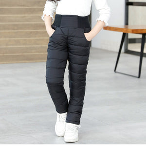 Unisex Winter Pants Cotton Padded