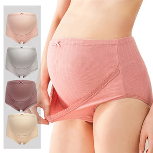 3Pcs Cotton Pregnant Panties
