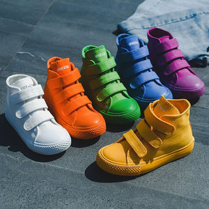 High Top Kids Canvas Shoes u2