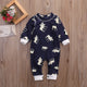 Moose Long-Sleeve Winter Onesie