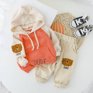 """Dude"" Bear Tracksuit Set"