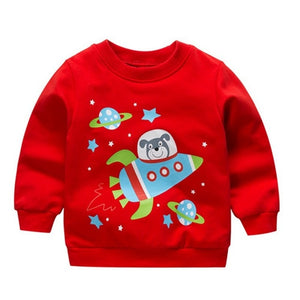 Fun Characters Printed Sweatshirt
