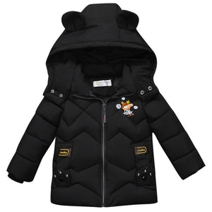 Premium Bear-y Hooded jacket