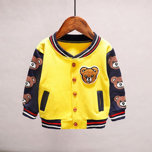 Too Cool For School Bear Jacket