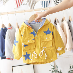 Stars Hooded Jacket