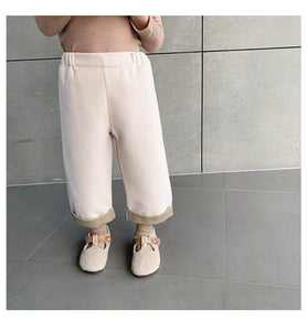 Double-Faced Loose Pants