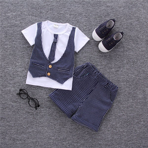 Gentlement Vest and Tie Set