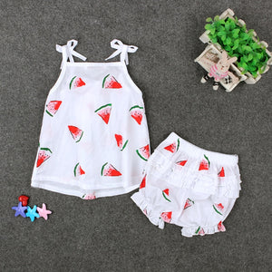 Watermelon Romper Outfit