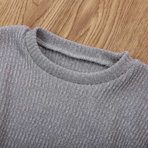 Flare-Sleeved Jumper