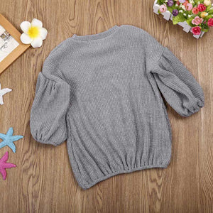 Toddler Flare-Sleeved Jumper d1