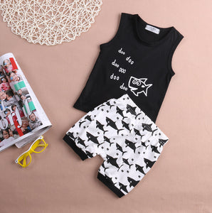 Baby Shark 2pcs Outfit