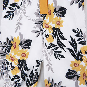 Floral Summer Sleeveless Jumpsuit d1
