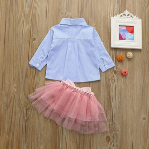 Top and Tutu Skirt Set