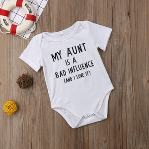 My Aunt Bad Influence Onesie