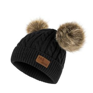 Double Ball Beanie