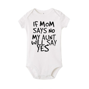 My Aunt Says Yes Onesie