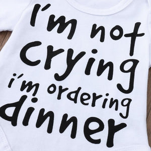 I'm Not Crying I'm Ordering Dinner Onesie