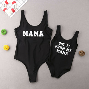 Matching Family Funny Swimsuits