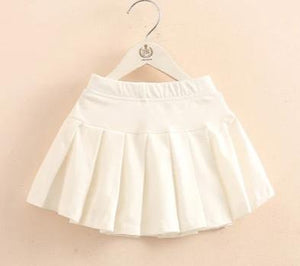 Pleated Skirt with Inner Shorts