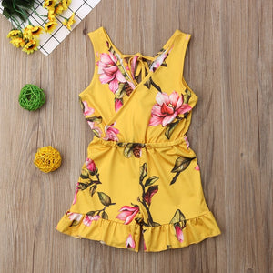 Summer Jasmine Romper ( 2 Colors)