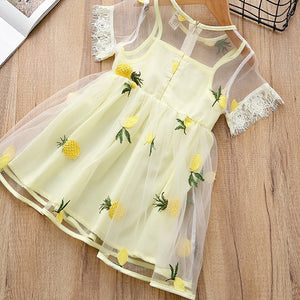 Polina Pineapple Dress