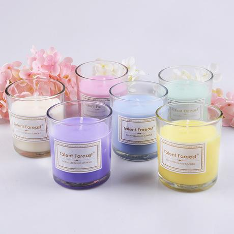 Aromatherapy Glass Candle
