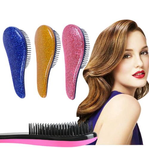 Anti-Static Magic Health Massage Comb (Shiny Colors)