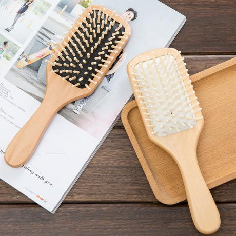 Air Cushion Wood Comb