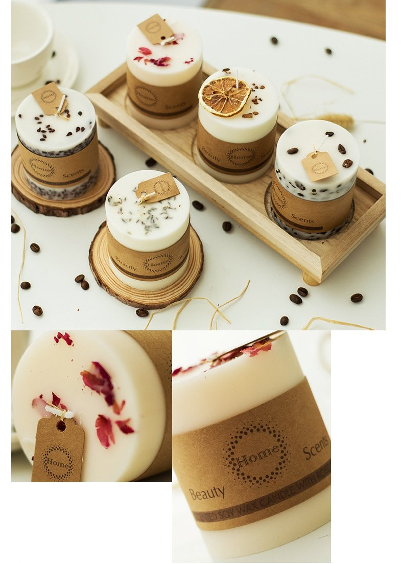Bedroom Purifying Romantic Smokeless Aromatherapy Candles