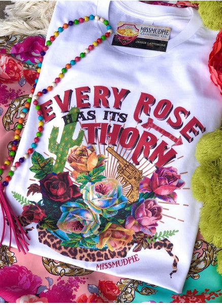 Every Rose T White