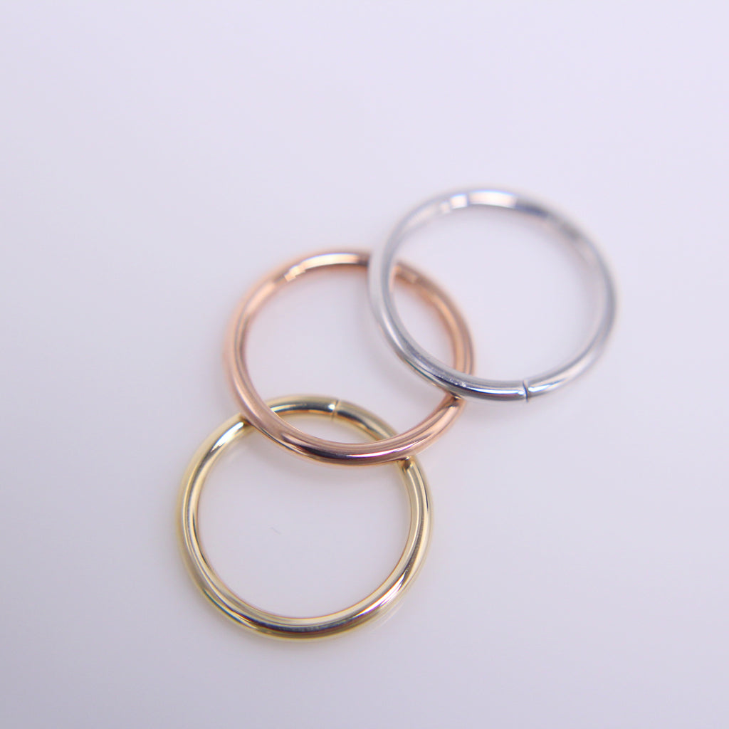 BVLA Classic Plain Seam Ring