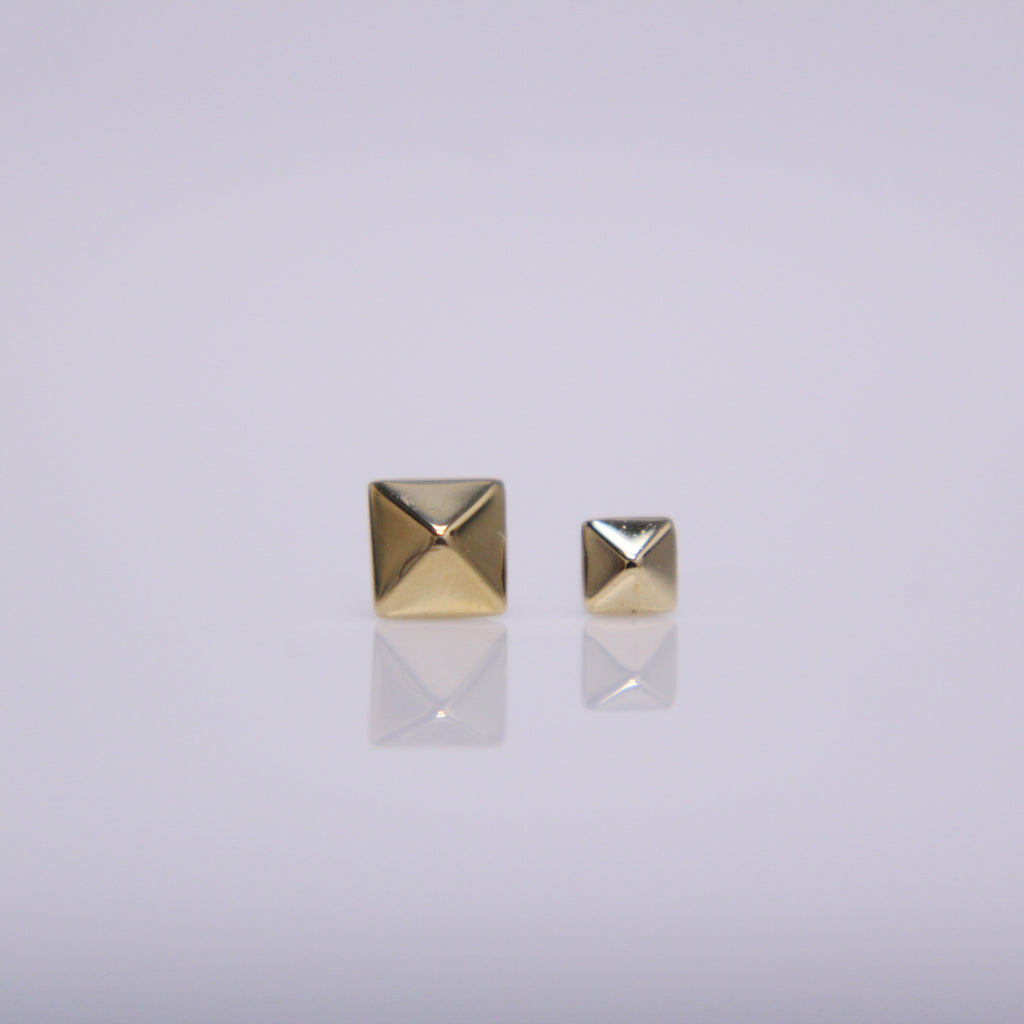 BVLA Square Pyramid Stud Pushpin End