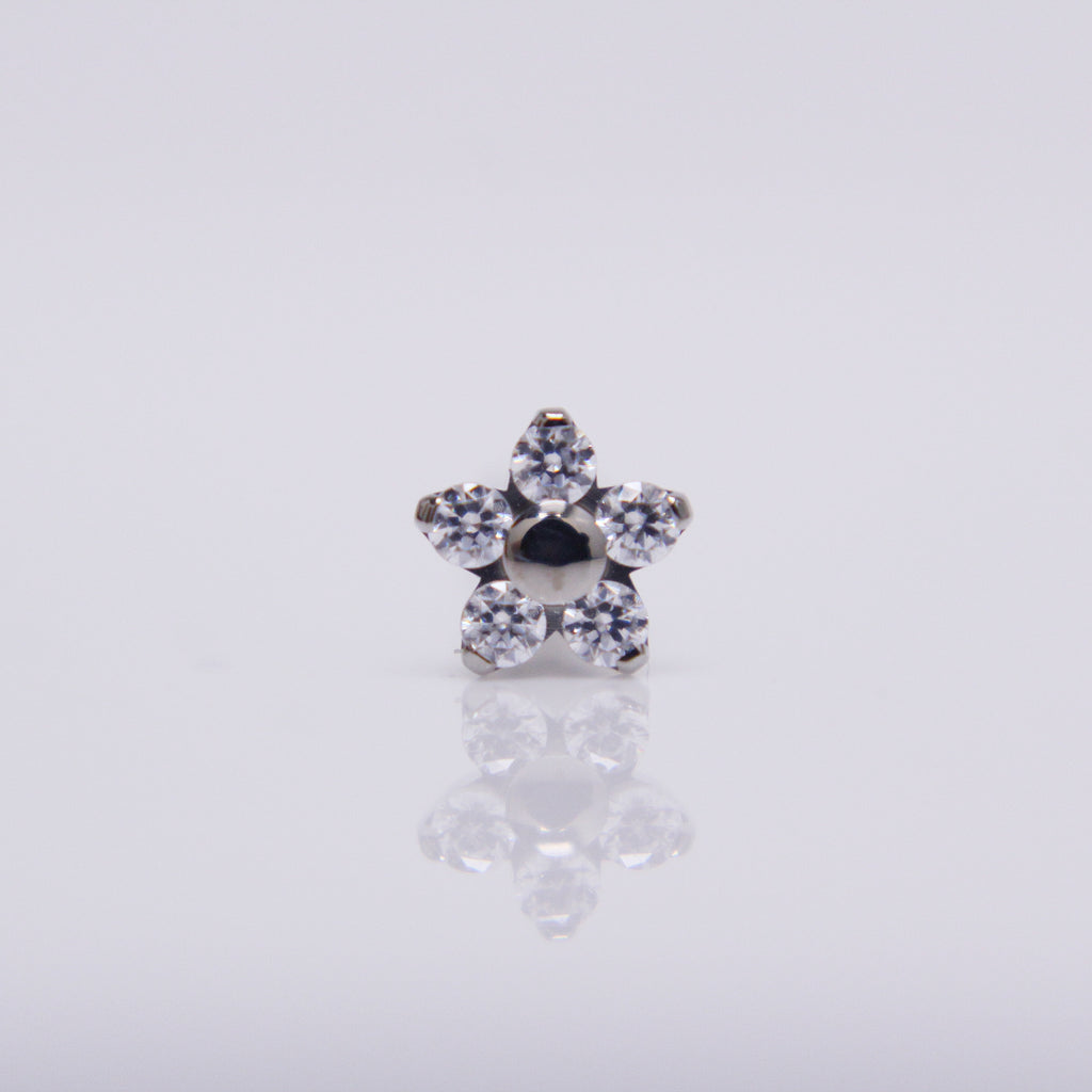 NeoMetal Flower Pushpin End