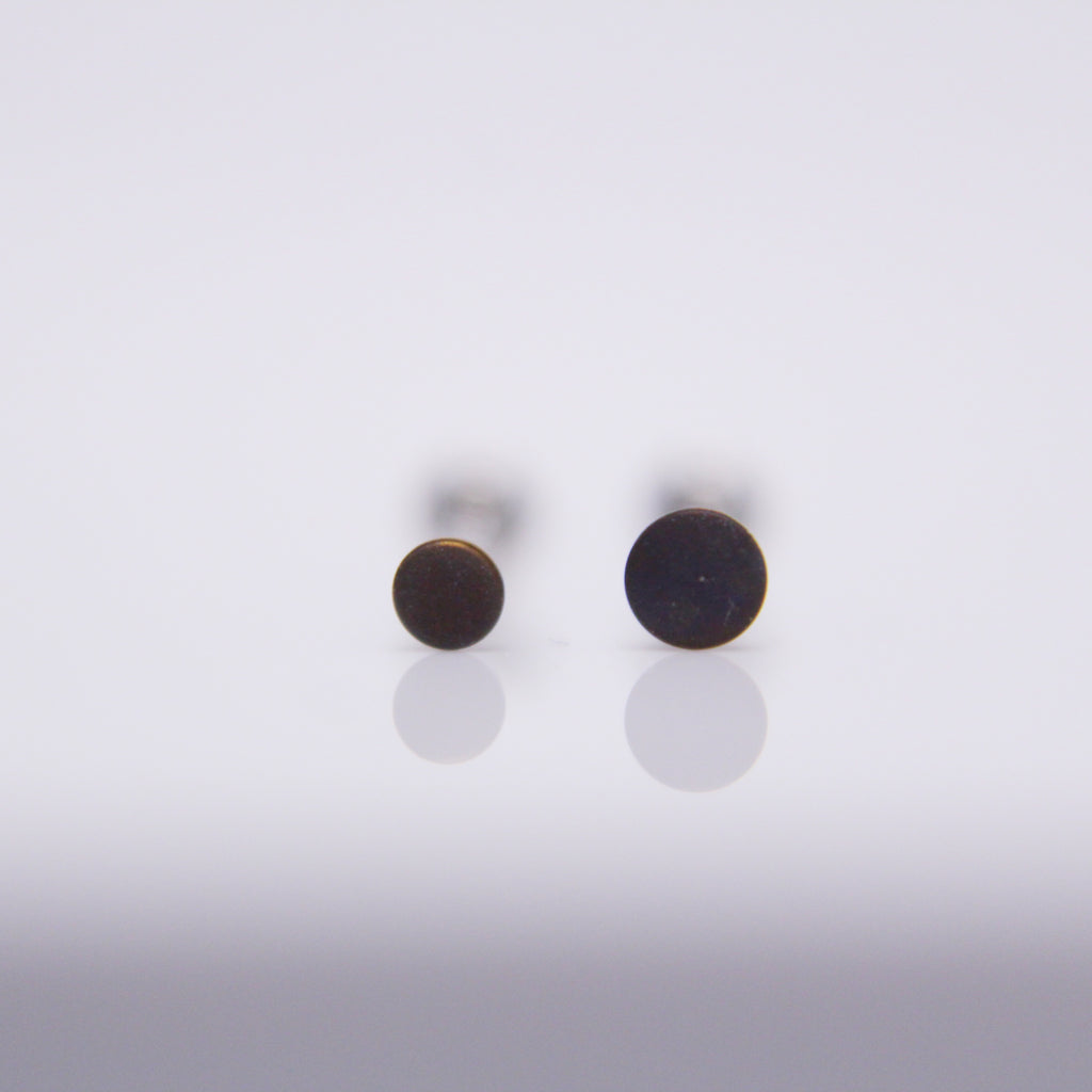 NeoMetal Textured Disc Pushpin End