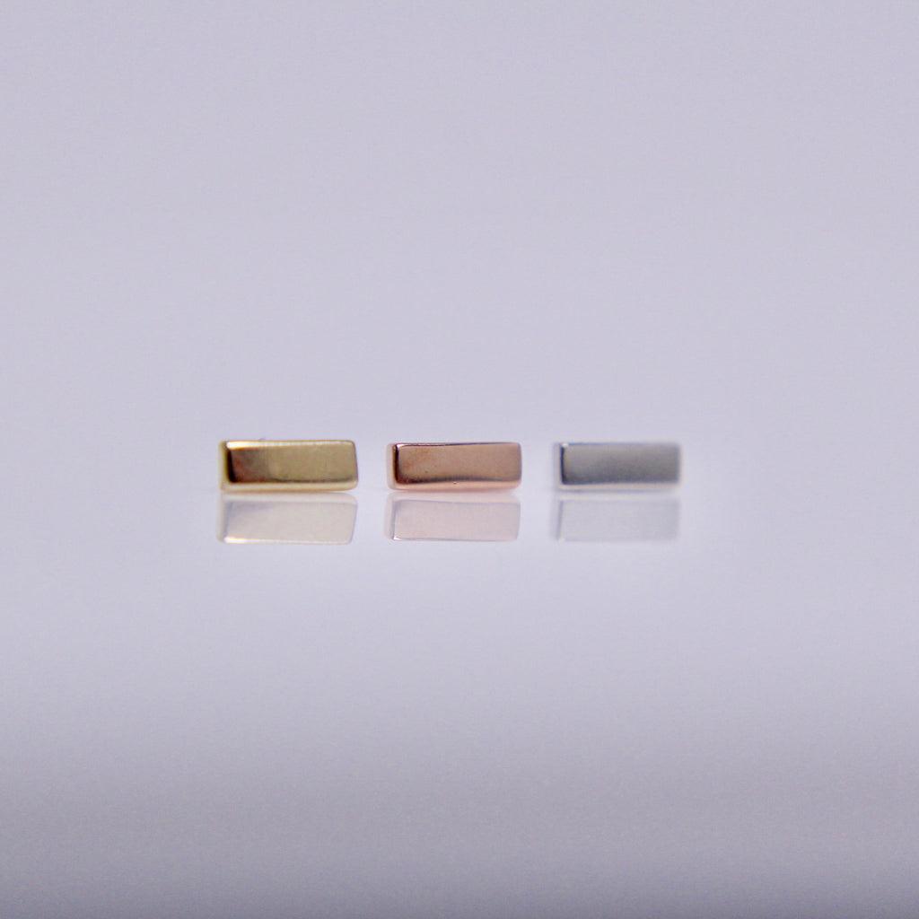 BVLA Flat Rectangle Pushpin End