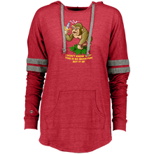 Load image into Gallery viewer, 420 Gorilla - I don't know why this is so funny but it is 229390 Holloway Ladies Hooded Low Key Pullover